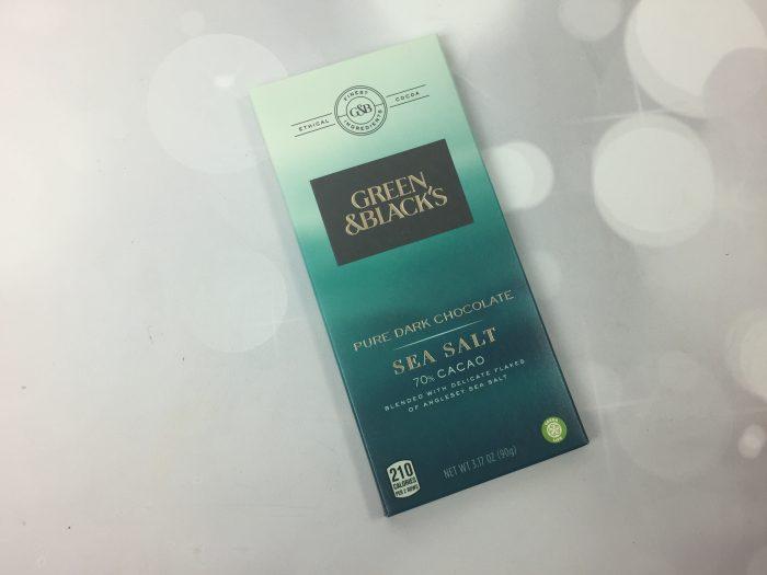 Green & Black's Pure Dark Chocolate with Sea Salt