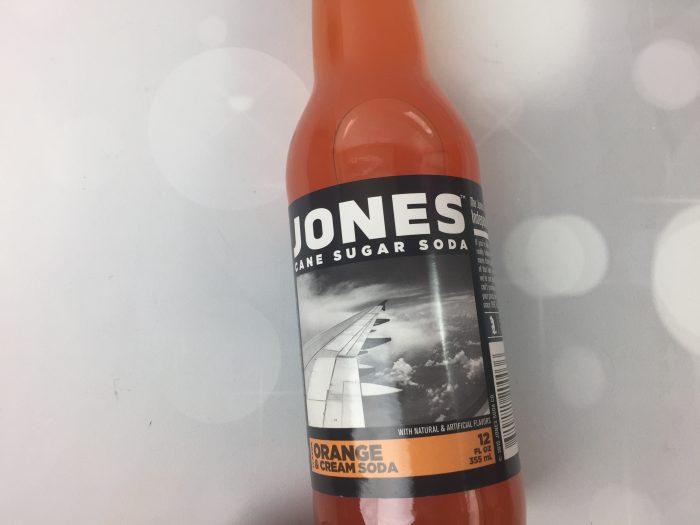 Jones Cane Sugar Soda – Orange & Cream Soda
