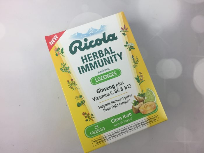 Ricola Herbal Immunity Lozenges – Citrus Herb