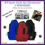 K9 Sport Sack Giveaway! 2 Winners!