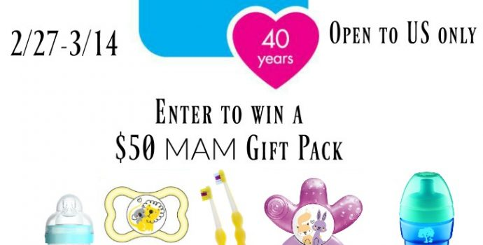 MAM Anti-Colic Bottles Prize Pack Giveaway
