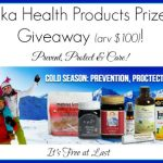 Manuka Health Products Prize Pack (arv $100) Giveaway! #ManukaHealth #ShopPRI