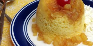 Pineapple Upside Down Mug Cakes for a Scrumptious Treat!