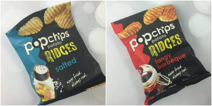 Popchips Potato Ridges – Salted and Tangy Barbecue
