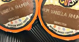Soothe Your Chills with a Warm Cup of Rum Vanilla Rhumba Coffee from Crazy Cups #CrazyCups