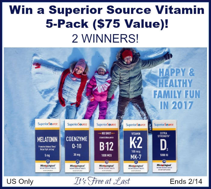 Superior Source Giveaway