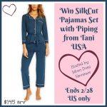#Win Tani SilkCut Pajamas