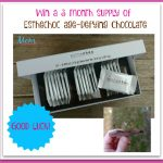 #Win 3-Month Supply of  Age-defying Chocolate! #EstheChoc