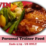 #Win 28 day Supply of Personal Trainer Food