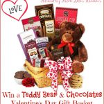 #Win a Teddy Bear & Chocolates Valentine's Day Gift Basket