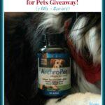 ArthroPet Collagen Supplements (2 Btls. – $40 arv) Giveaway! #Petpalooza2