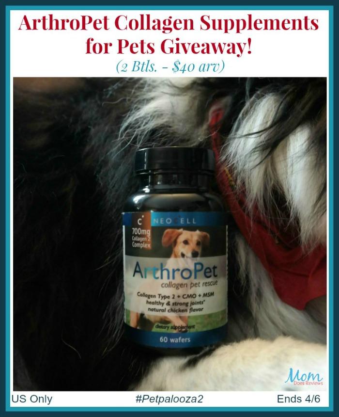 ArthroPet Collagen Supplement Giveaway