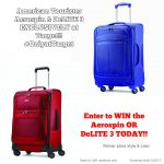 Travel In Style – Win an American Tourister Suitcase