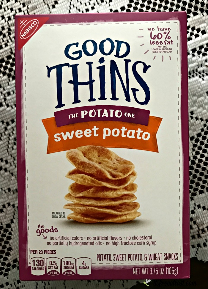 Good Thins - The Potato One Sweet Potato