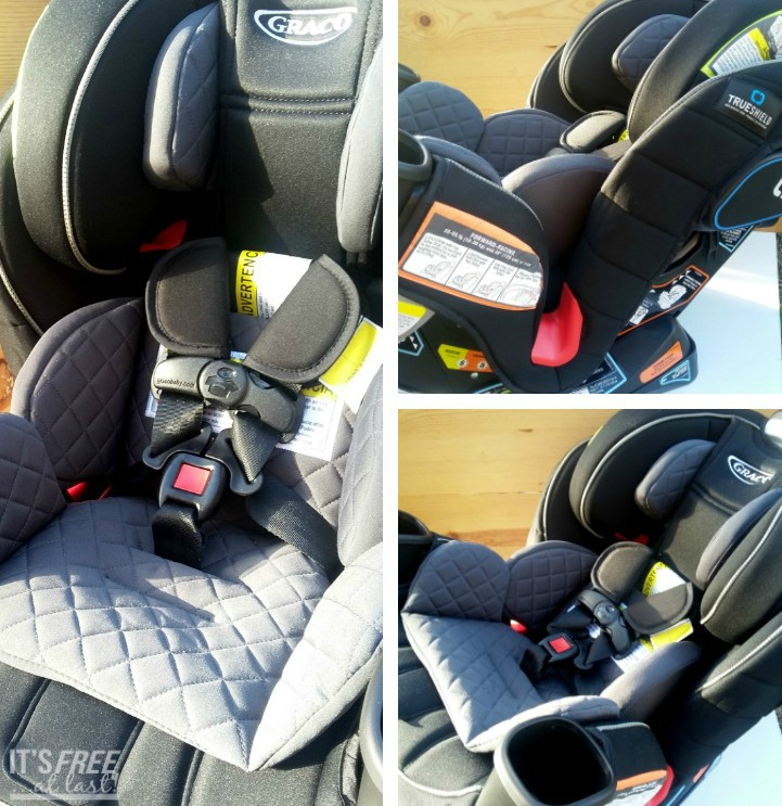 b78b1cbdd Graco® Extend2Fit™ 3-in-1 Convertible Car Seat featuring TrueShield  Technology