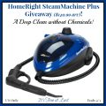 HomeRight SteamMachine Plus ($149.99 arv) Giveaway!