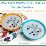 Win TWO PAW5 Rock 'N Bowl Puzzle Feeders ($59.90 arv)!