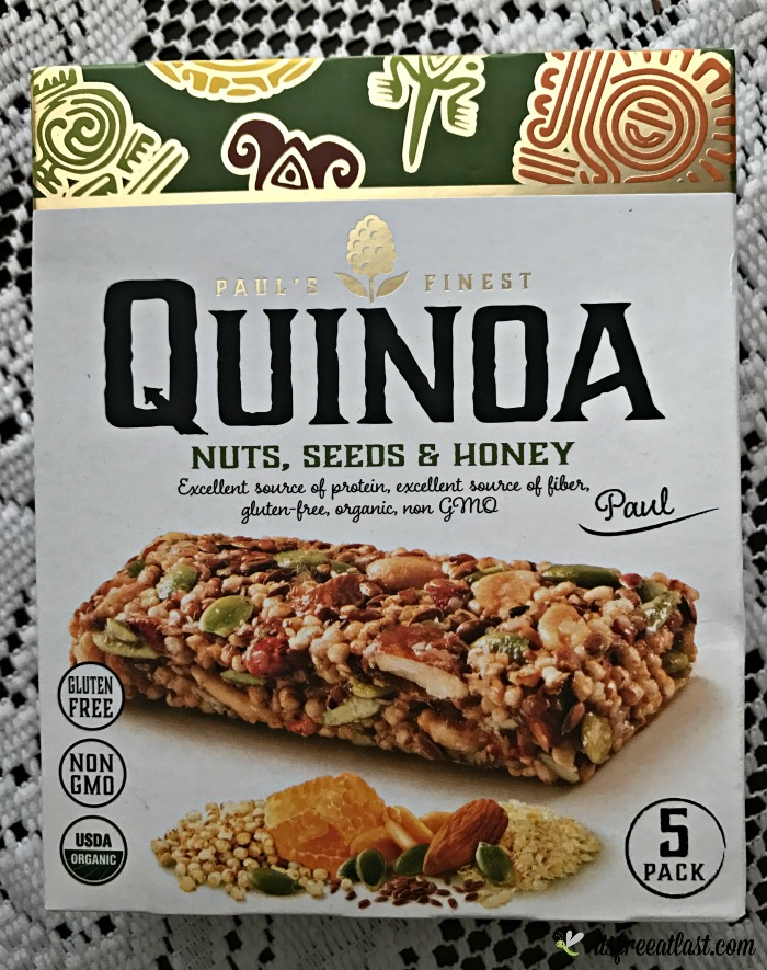Paul's Finest Quinoa - Nuts, Seeds & Honey
