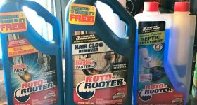 Roto-Rooter Plumbing Products Solves Clogs and Backups!
