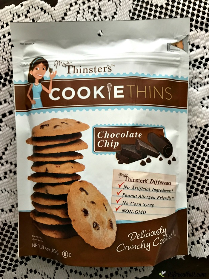 Mrs. Thinster's Chocolate Chip Cookie Thins