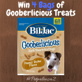 #Win 4 Bags of Bil-Jac Gooberlicious Treats #petpalooza2