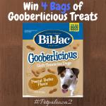 #Win 4 Bags of Bil-Jac Gooberlicious Treats #petpalooza2