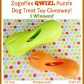 QWIZL Puzzle Dog Treat Toy Giveaway! 3 Winners!