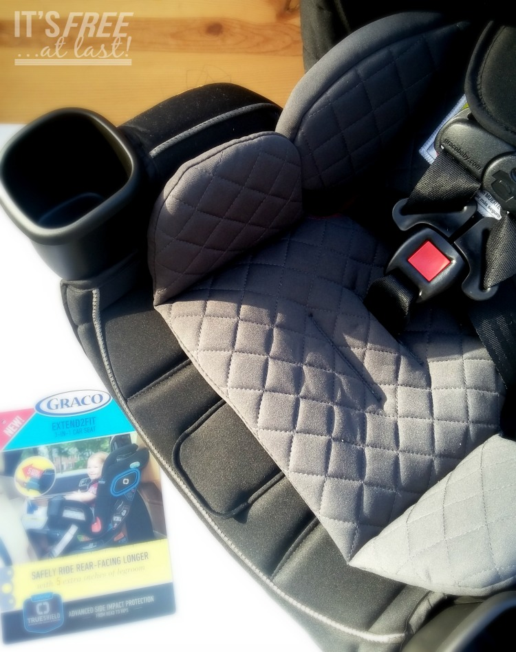 Graco® Extend2Fit™ 3-in-1 Convertible Car Seat featuring TrueShield Technology
