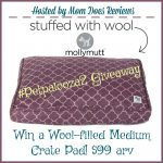 #Win a Molly Mutt Woo-filled Crate Pad $99 arv #Petpalooza
