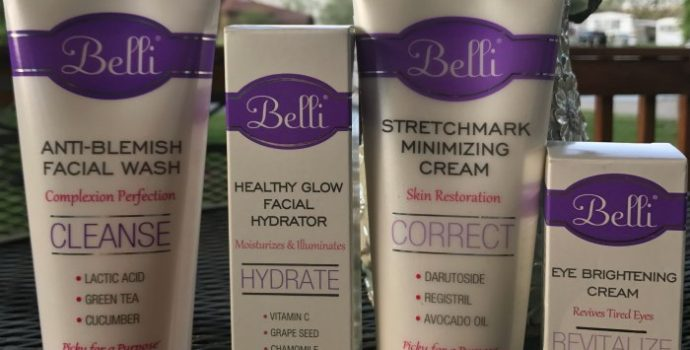 Give Mom Gift of Comfort with Belli Skin Products #MomGifts17