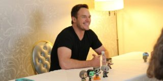Candid Chat with Chris Pratt aka Star-Lord from Guardians of the Galaxy #GotGVol2Event