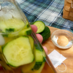 #12Daysof Picnic Ideas {Day 10} Sweet Cucumber Green Tea