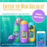 #Win a Gululu Interactive Water Bottle $129 arv