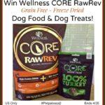 Wellness CORE RawRev Grain Free Dog Food & Dog Treats Giveaway! #Petpalooza2