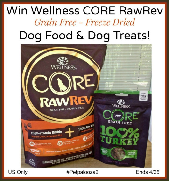 Wellness Core RawRev Giveaway button