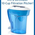 ZeroWater 10-Cup Filtration Pitcher Giveaway!