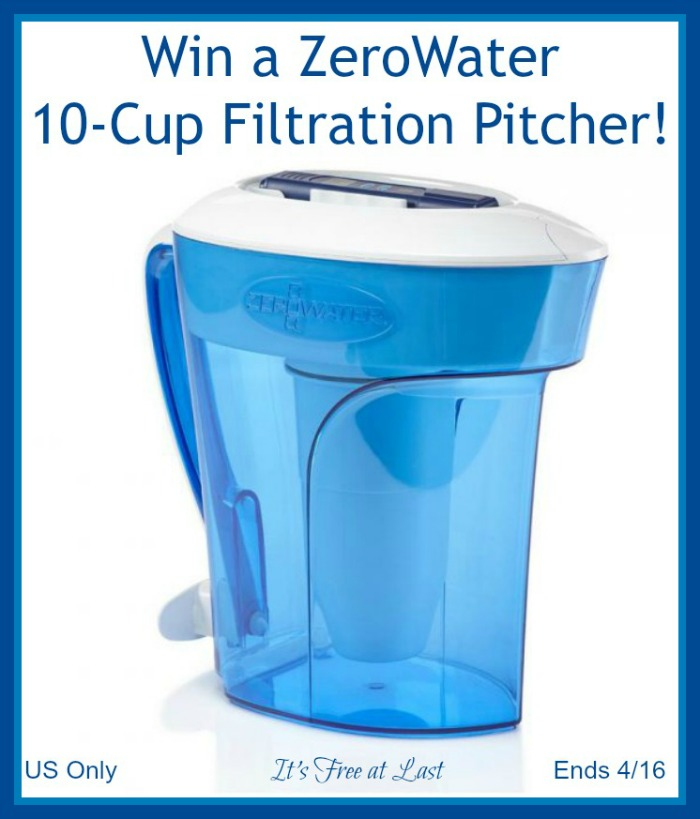 ZeroWater Pitcher Giveaway button