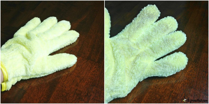 e-cloth High Performance Dusting Glove table top collage