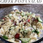 #12Daysof Picnic Ideas {Day 6} Greek Pasta Salad