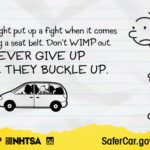 Keep Your Kids Safe! Don't Give up Until They #BuckleUp