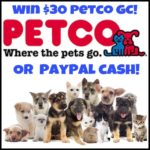 #Win $30 Petco GC or PayPal Cash!