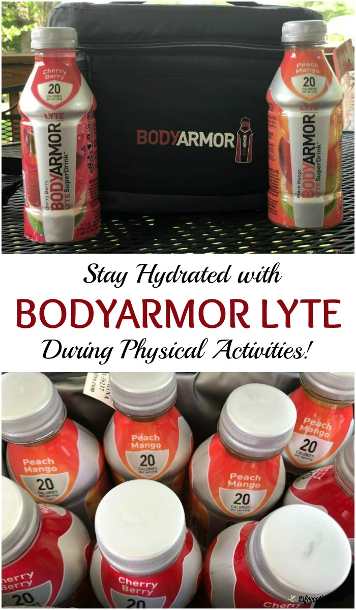Stay Hydrated with BODYARMOR LYTE During Physical Activities! #Switch2BODYARMOR