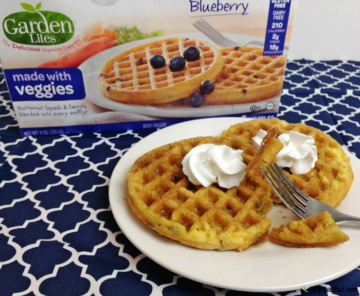 Garden Lites Blueberry Waffles