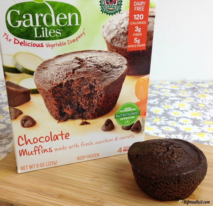 Garden lites is the yummy way to get veggies in your daily - Garden lites blueberry oat muffins ...