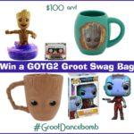 #Win a GOTG2 Groot Swag Bag #GrootDancebomb