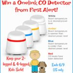 #Win a Onelink Carbon Monoxide Home Detector from First Alert