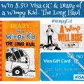 #Win $50 Visa GC and Diary of Wimpy Kid- The Long Haul #WimpyKid