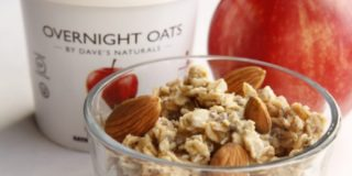 Dave's Naturals Overnight Oats Makes Breakfast Easy, Healthy, and Delicious!