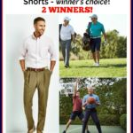 Win a pair of Haggar Pants or Shorts – winner's choice! 2 WINNERS! #FathersDay2017