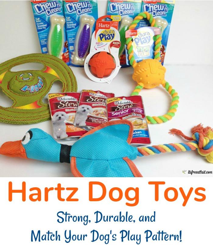 Hartz Dog Toys